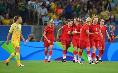 Olympics: Football-Women's Team-Final -SWE vs GER