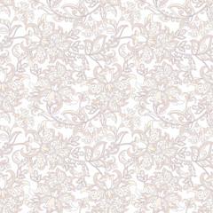 floral vector illustration damask background