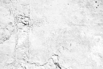 Texture Stone Chalk Lime Rock Sand Cement Concrete Wall Wallpaper Background Ground Flat Rough Dirty Grunge Colorless Destroyed Distorted Eroded Old Retro Vintage Decorative White Grey Blank Template