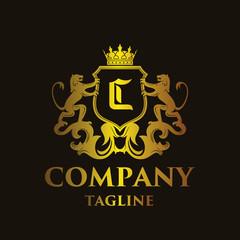 luxury Letter 'C' Logo