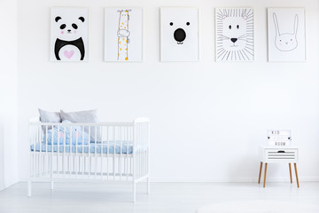Gallery in boy's bedroom