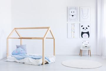 Scandinavian style boy's bedroom