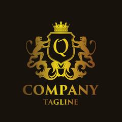 luxury Letter 'Q' Logo