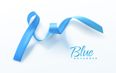 Awareness Blue Ribbon.