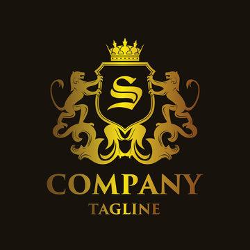 luxury Letter 'S' Logo