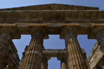 Italy, .Paestum; Neptune's temple.
