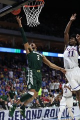 NCAA Basketball: NCAA Tournament-Second Round-Kansas vs Michigan State