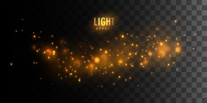 Luminous fire stars.