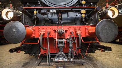 Dampflokomotiven Front