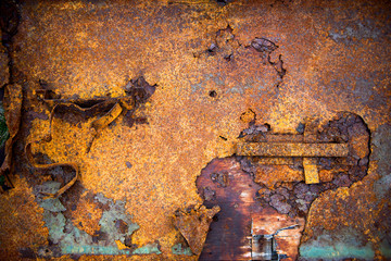 Metal Rust Background, Metal Rust Texture, Rust, Decay metal Background