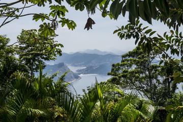 Amazing view from sugarloaf, Rio de Janeiro, Brazil