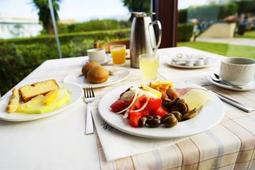 Śniadanie w Hotelu Grecja