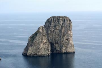 Italy,Capri; Faraglioni.