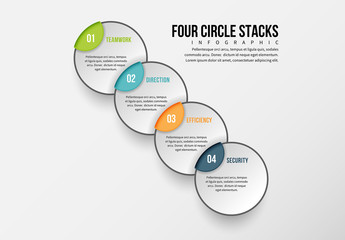 Line of Circles Infographic 1