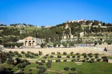 Mount of Olives view, Jerusalem, Israel