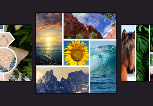 Shutter Photo Collage Layouts