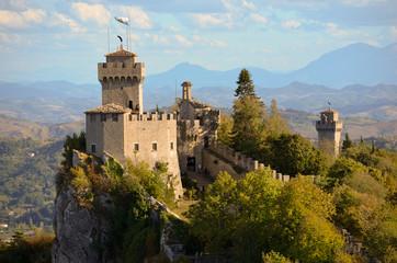 Castello a San Marino - Repubblica di San Marino Wall mural