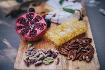 Healthy autumn snack