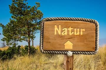 Schild 249 - Natur