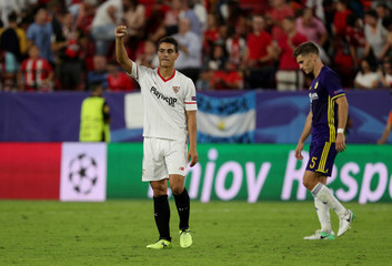 Champions League - Sevilla vs NK Maribor