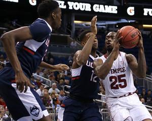 NCAA Basketball: AAC Tournament - Temple vs Connecticut