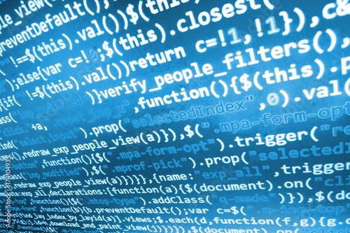 Database bits access stream visualisation  Digital binary data on
