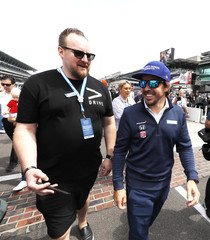 IndyCar: 101st Running of the Indianapolis 500-Drivers Meeting