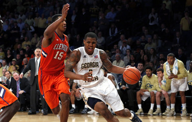 NCAA Basketball: Clemson at Georgia Tech