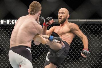 MMA: UFC Fight Night-Burkman vs Felder