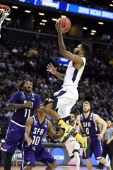 NCAA Basketball: NCAA Tournament-First Round-West Virginia vs Stephen F. Austin