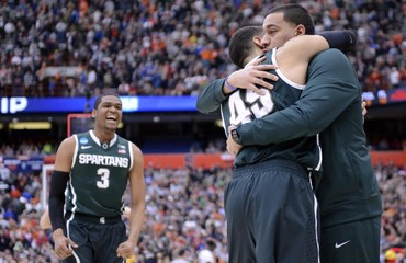 NCAA Basketball: NCAA Tournament-East Regional-Louisville vs Michigan State