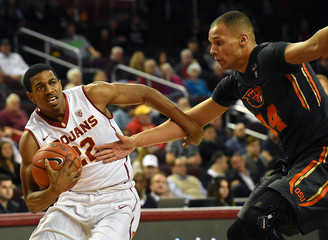 NCAA Basketball: Oregon State at Southern California