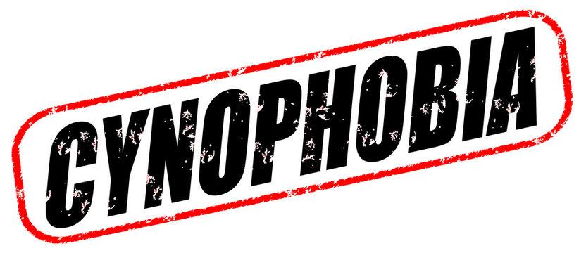 Cynophobia stamp