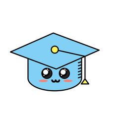 kawaii cute tender cap graduation