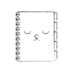 kawaii address book business office cartoon