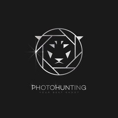 Photo hunting logo