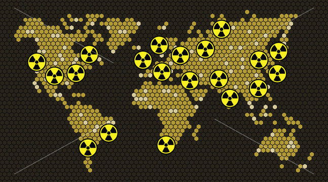 Nuclear power countries of world