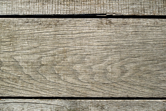 texture of old gray oak boards