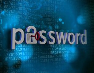 locked password
