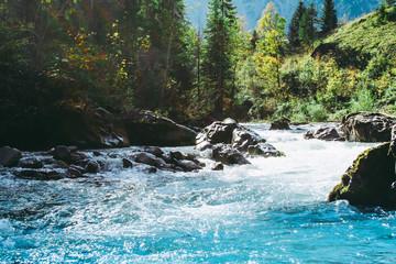 kleiner Fluss durch die Natur, Österreich