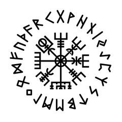 Vegvisir. Runes