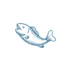 fish vector illustration