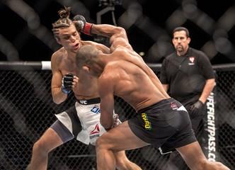 MMA: UFC 195-Brandao vs Ortega