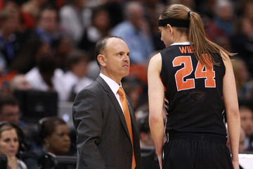 NCAA Womens Basketball: Final Four-Oregon State vs Connecticut