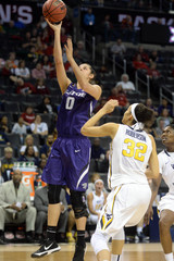 NCAA Womens Basketball: Big 12 Conference Tournament-West Virginia vs Kansas State