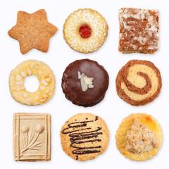 Verschiedene Kekse, Collage 2