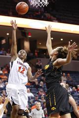 NCAA Womens Basketball: Iowa at Virginia
