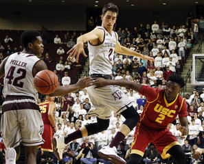 NCAA Basketball: Southern California at Texas A&M