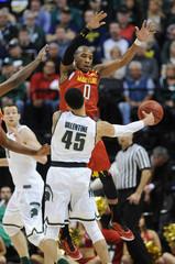 NCAA Basketball: Big Ten Conference Tournament-Maryland Michigan State
