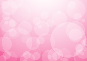 background with pink bubbles